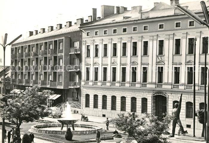 AK / Ansichtskarte Szolnok Kossuth Platz Kat. Szolnok