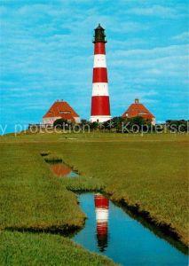 AK / Ansichtskarte Leuchtturm Lighthouse Westerhever Kat. Gebaeude