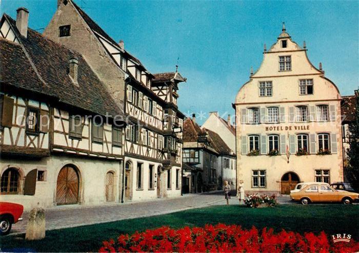 AK / Ansichtskarte Turckheim Haut Rhin Rue du Conseil Mairie Hotel des Deux Clefs Kat. Turckheim