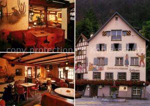 AK / Ansichtskarte Chur GR Restaurant zum alten Zollhaus Kat. Chur
