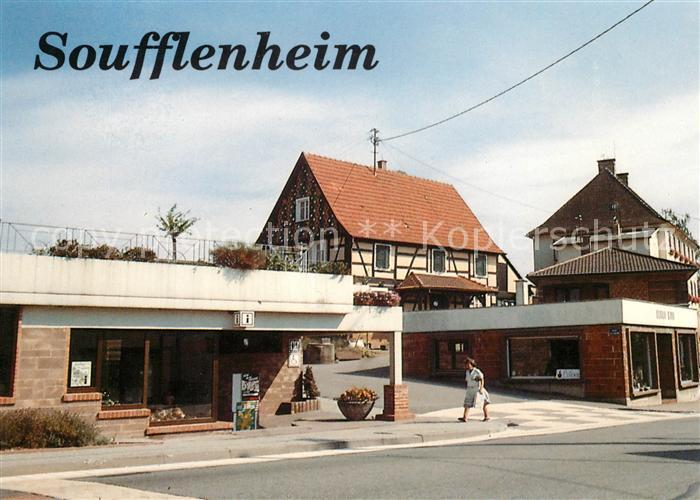 AK / Ansichtskarte Soufflenheim Ortsansicht Kat. Soufflenheim