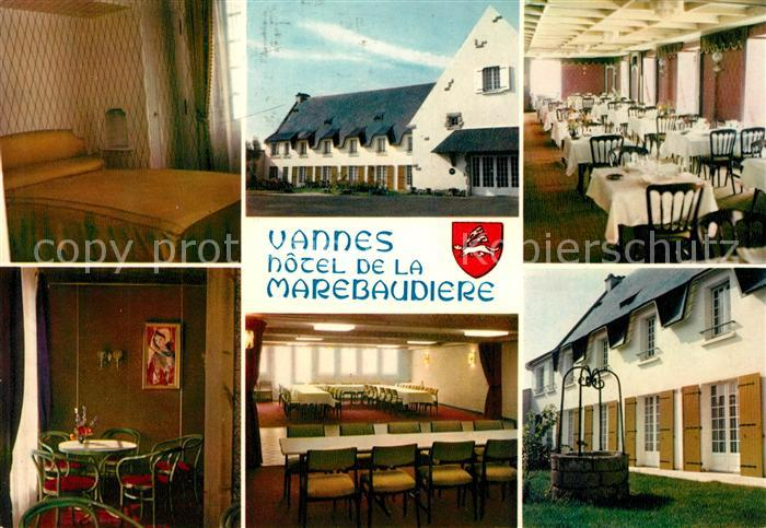 AK / Ansichtskarte Vannes Hotel de la Marebaudiere Kat. Vannes