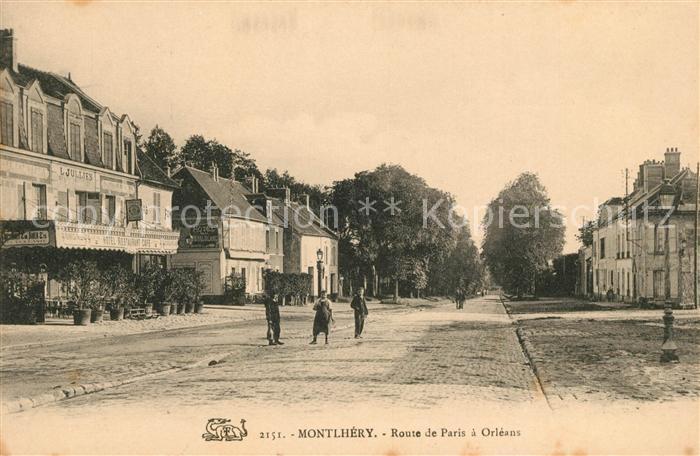 Montlhery Route de Paris a Orleans Kat. Montlhery