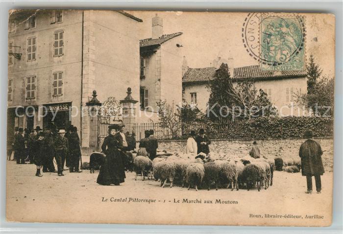 Aurillac Marche aux Moutons Kat. Aurillac
