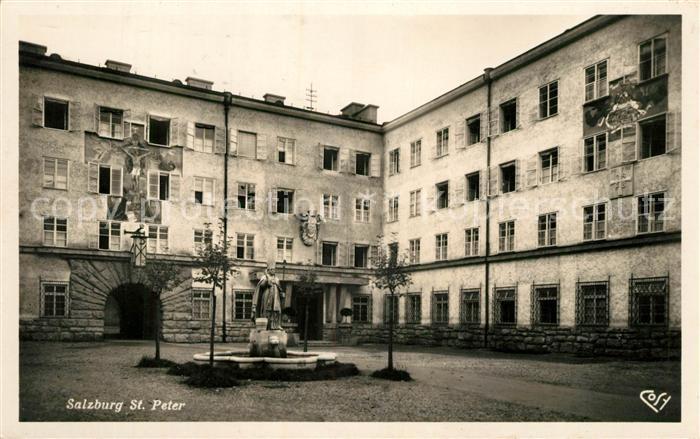 Salzburg Oesterreich St Peter Kat. Salzburg