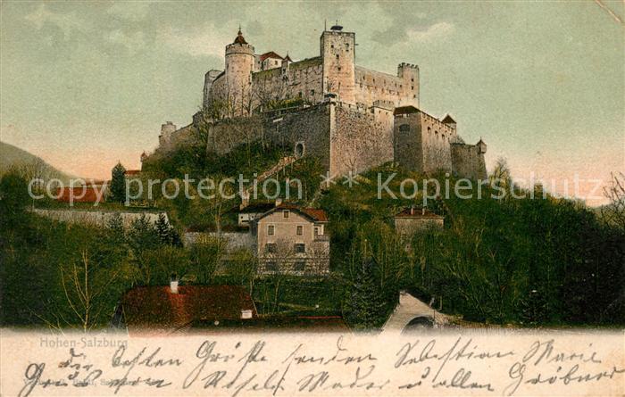 Salzburg Oesterreich Festung Hohensalzburg Kat. Salzburg
