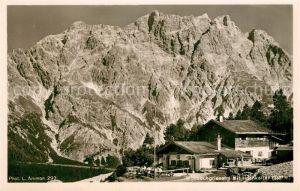 AK / Ansichtskarte Berchtesgaden Wimbachgriesalm mit Hochkalter Berchtesgadener Alpen Kat. Berchtesgaden