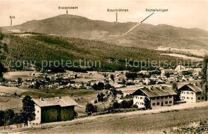 AK / Ansichtskarte Lam Oberpfalz Landschaftspanorama mit Kaitersberg Bayerischer Wald Kat. Lam