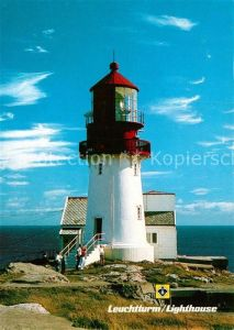 AK / Ansichtskarte Leuchtturm Lighthouse Lindesnes Norwegen  Kat. Gebaeude