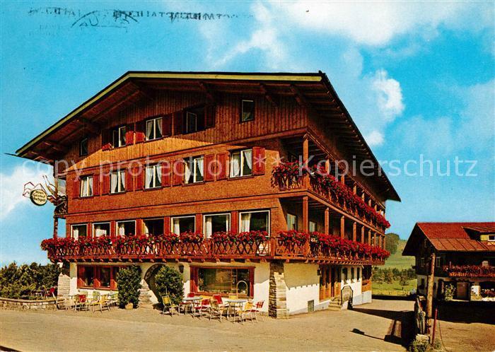 AK / Ansichtskarte Steibis Alpengasthof Hochgrat Kat. Oberstaufen
