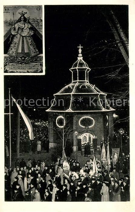 AK / Ansichtskarte Kevelaer Gnadenkapelle Gnadenbild Kat. Kevelaer