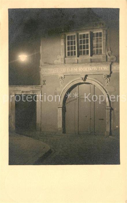 AK / Ansichtskarte Rheine Collegium Societatis Kat. Rheine
