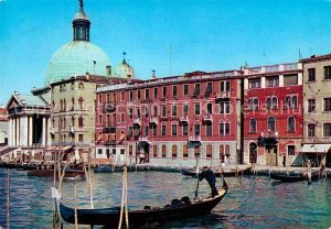 AK / Ansichtskarte Venezia Venedig Hotel de La Gare e Germania Kat.
