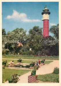 AK / Ansichtskarte Leuchtturm Lighthouse Wangerooge Hindenburgplatz  Kat. Gebaeude