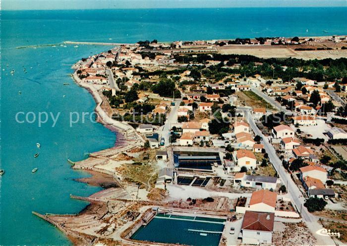 AK / Ansichtskarte Chatelaillon Plage Port des Boucholeurs Fliegeraufnahme Kat. Chatelaillon Plage