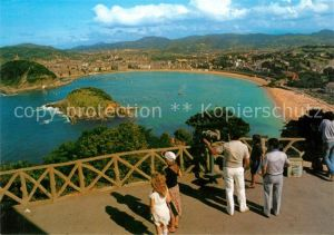 AK / Ansichtskarte San Sebastian Guipuzcoa Monte Igueldo