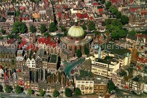 AK / Ansichtskarte Amsterdam Niederlande Fliegeraufnahme Lutherse Kerk Kat. Amsterdam