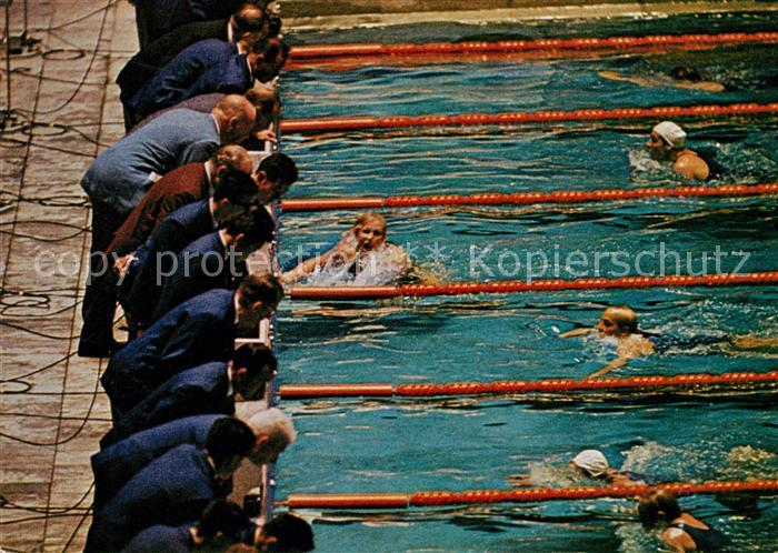 AK / Ansichtskarte Schwimmen Galina Prosumenschtschikowa Olympia Tokio  Kat. Sport
