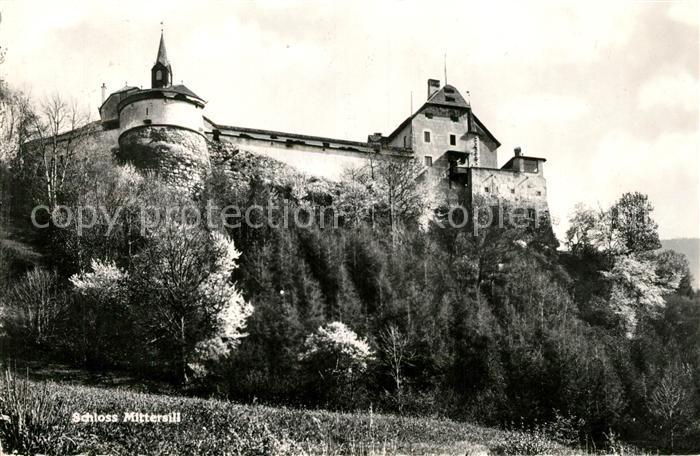 AK / Ansichtskarte Mittersill Oberpinzgau Schloss Kat. Mittersill