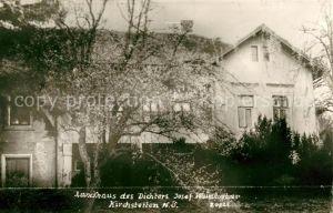 AK / Ansichtskarte Kirchstetten Niederoesterreich Landhaus des Dichters Josef Weinheber Kat. Kirchstetten