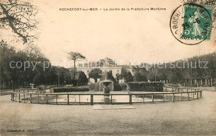 AK / Ansichtskarte Rochefort sur Mer Jardin de la Prefecture Maritime Kat. Rochefort Charente Maritime