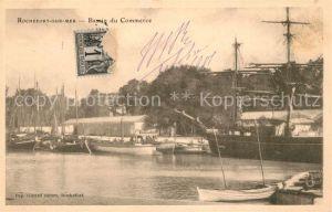 AK / Ansichtskarte Rochefort sur Mer Bassin du Commerce Kat. Rochefort Charente Maritime