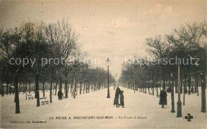 AK / Ansichtskarte Rochefort sur Mer Le Cours d Ablois Kat. Rochefort Charente Maritime