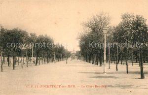 AK / Ansichtskarte Rochefort sur Mer Le Cours Roy Bry Kat. Rochefort Charente Maritime