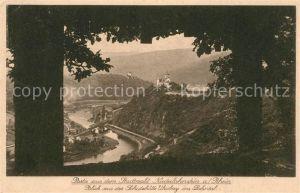 AK / Ansichtskarte Niederlahnstein Blick aus der Schutzhuette Uhulay ins Lahntal Kat. Lahnstein