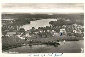 AK / Ansichtskarte Himmelpfort Fliegeraufnahme mit Kloster Himmelpfort Kat. Fuerstenberg