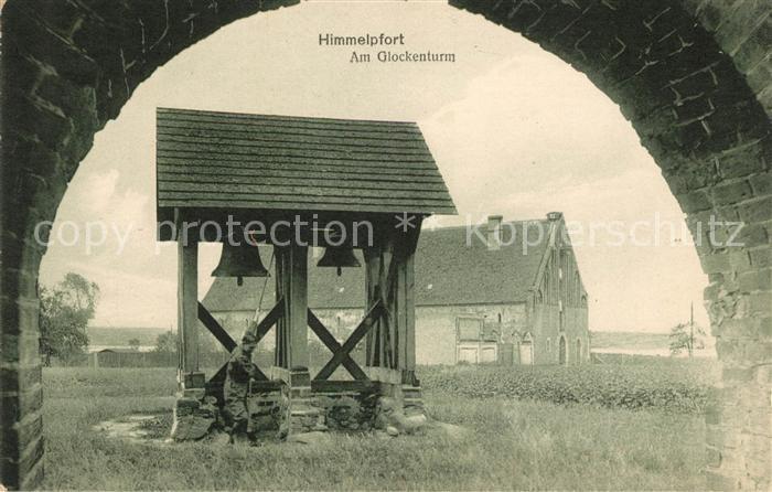 AK / Ansichtskarte Himmelpfort Am Glockenturm Kat. Fuerstenberg