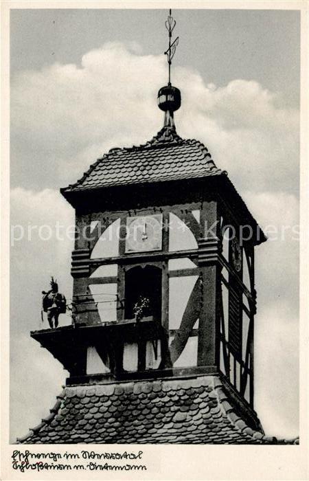 AK / Ansichtskarte Eschwege Schlossturm mit Dietemann Wahrzeichen Kat. Eschwege