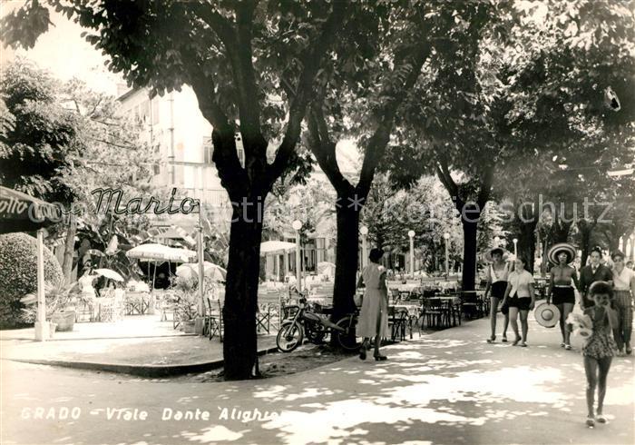 AK / Ansichtskarte Grado Gorizia Viale Dante Alighieri