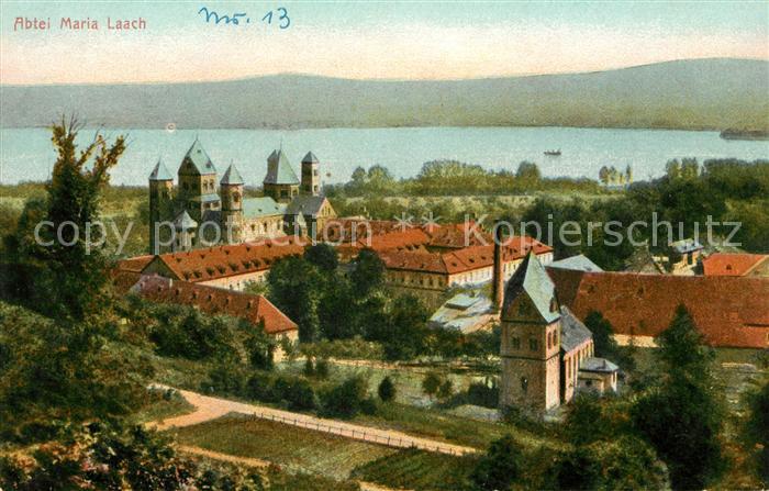 AK / Ansichtskarte Maria Laach Glees Abtei Maria Laach