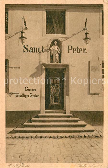 AK / Ansichtskarte Walporzheim Weinhaus Sanct Peter Kat. Bad Neuenahr Ahrweiler