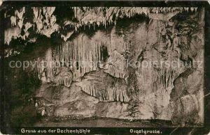 AK / Ansichtskarte Dechenhoehle Orgelgrotte Kat. Iserlohn