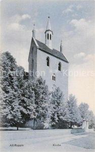 AK / Ansichtskarte Alt Ruppin Brandenburg Kirche St Nikolai