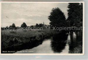 AK / Ansichtskarte Wendisch Buchholz Partie an der Dahme Landschaftspanorama Kat. Maerkisch Buchholz Spreewald