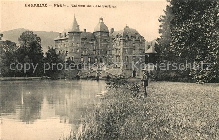 AK / Ansichtskarte Vizille Chateau de Lesdiguieres Kat. Vizille