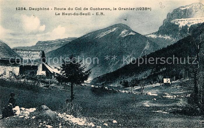 AK / Ansichtskarte Dauphine Route du Col de Cucheron le Granier Le Haut du Seuil Kat. Grenoble