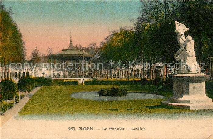 Ak agen le mus e nr 5472044 oldthing ansichtskarten - Office de tourisme agen lot et garonne ...
