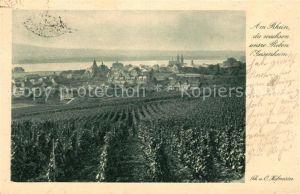 AK / Ansichtskarte Geisenheim Weinberge Reben Serie Aus unserer Heimat Sammlung 10 Am Rhein II. Folge Kat. Geisenheim