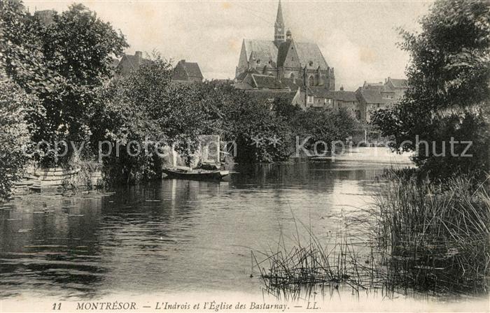 AK / Ansichtskarte Montresor Indrois Eglise des Bastarnay Kat. Montresor