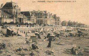 AK / Ansichtskarte Parame Plage du Grand Hotel et du Casino Kat. Saint Malo