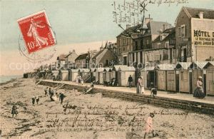 AK / Ansichtskarte Langrune sur Mer La Plage et la Digue Kat. Langrune sur Mer
