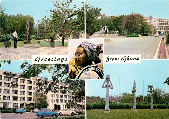 AK / Ansichtskarte Ghana Hotel Ambassador Kat. Ghana