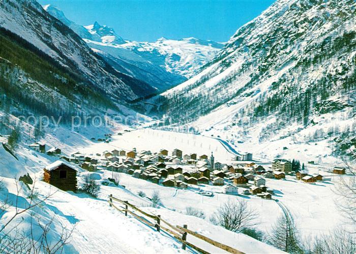 AK Ansichtskarte Taesch Breithorn kleines Matterhorn Kat. Taesch