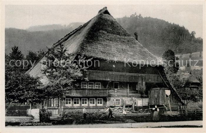 AK / Ansichtskarte Calmbach Enz Schwarzwaldhaus Kat. Bad Wildbad
