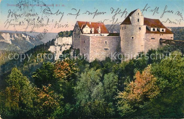Ak Ansichtskarte Donautal Schloss Wildenstein Kat Ulm Nr Sa59799