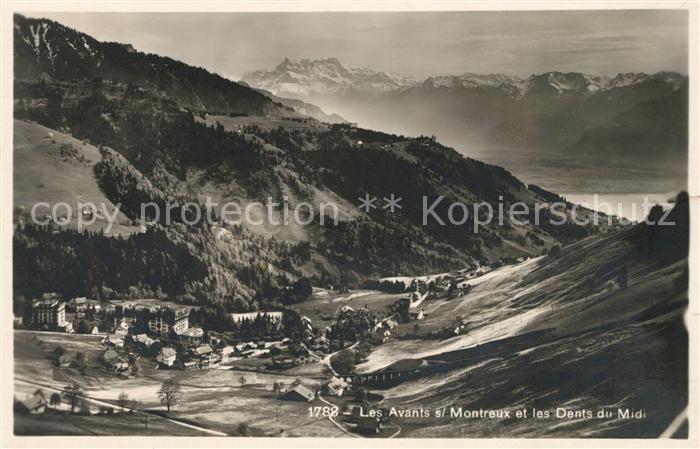 AK / Ansichtskarte Les Avants et les Dents du Midi Kat. Les Avants